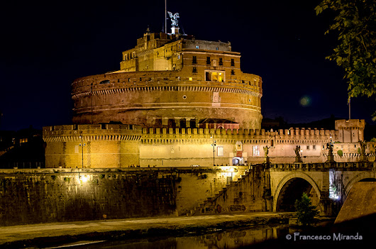 Castel Sant'Angelo in 35 mm