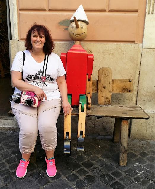 Pinocchio in Rom