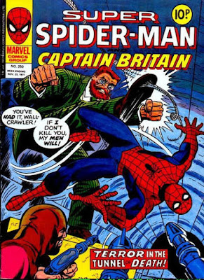 Super Spider-Man and Captain Britain #250, Dr Faustus