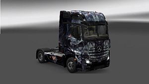 Fantasy Disturbed skins for all trucks SCS