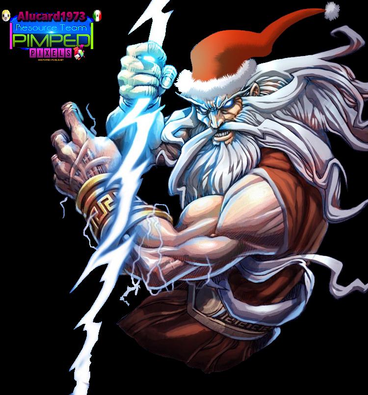 PNG Santa Zeus
