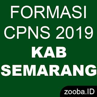 Formasi CPNS 2019 Kabupaten Semarang Jawa Tengah