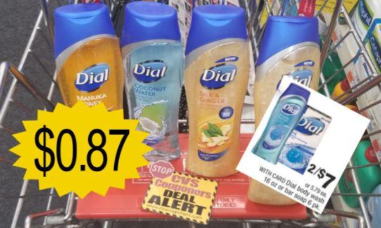 dial body wash cvs deal