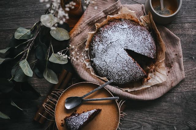 Torta al cioccolato senza zucchero