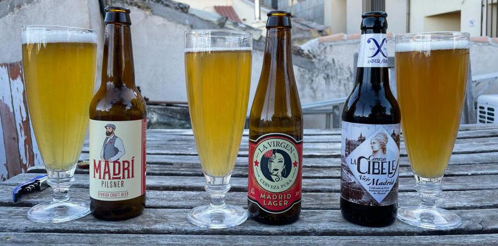 """Tres cervezas artesanas """"de Madrid"""""""