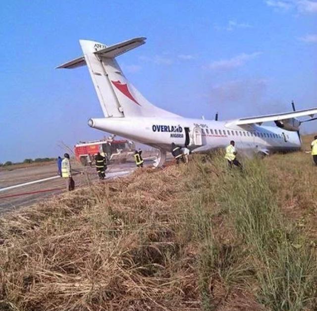 BREAKING:  Plane crashes in Ilorin
