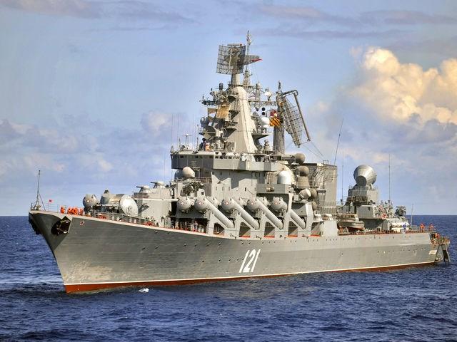 Tuần dương hạm tên lửa Moskva của Nga