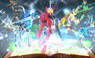 Kamen Rider Saber Episódio 18