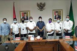 Sampaikan Pencapaian Kinerja, KPID Maluku Kunjungi Sadli Le
