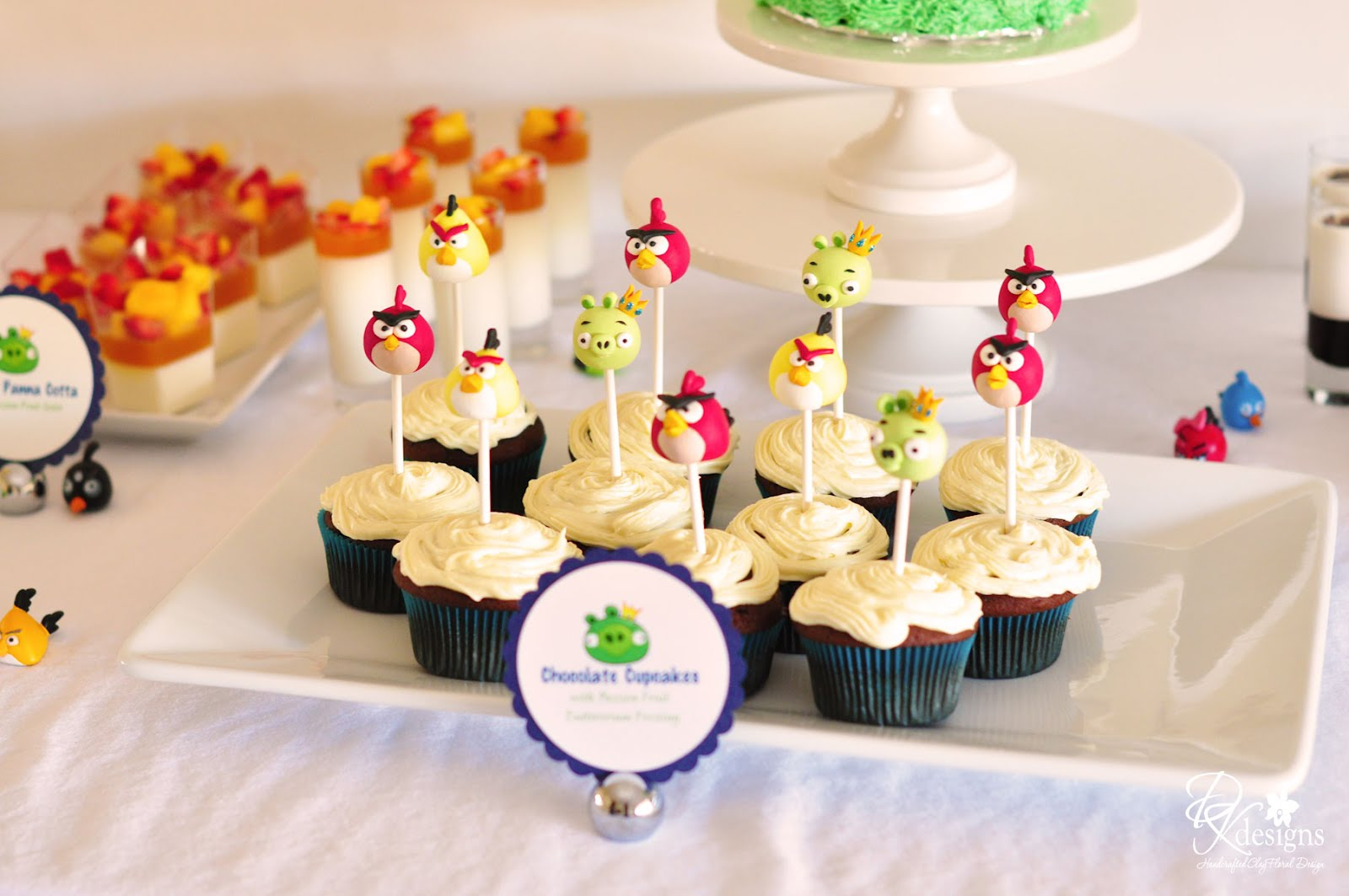 My Son S Angry Birds Themed Birthday Party Photos Dk Designs