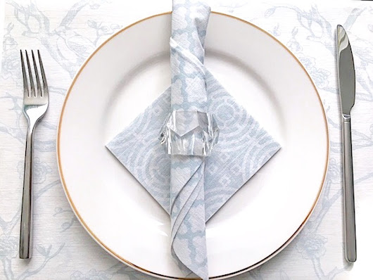 the knack: the napkins - Elegant Entertaining Has Never Been Easier