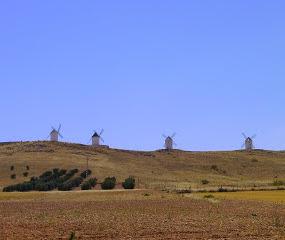 Castilla-La Mancha Windmills