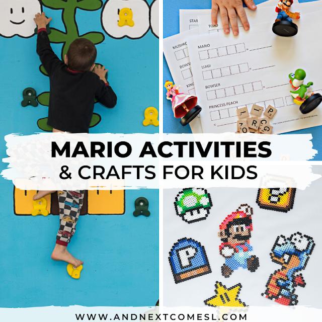 Mario bros activities