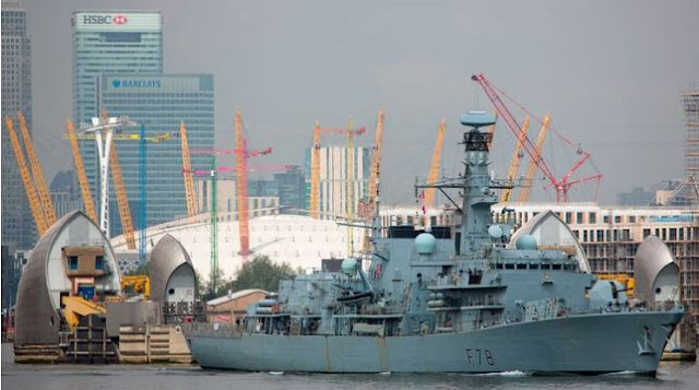 MUNDO: Reino Unido enviará un tercer buque de guerra al Golfo Pérsico informó   el ministerio de Defensa británico.