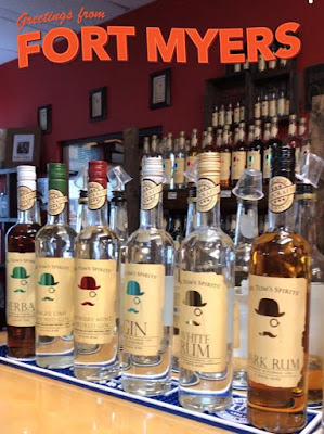 Mr. Tom's Spirits List Distillery in Fort Myers, Florida