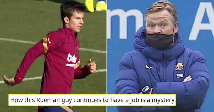 New shocking details about Koeman's training routine at Barca revealed