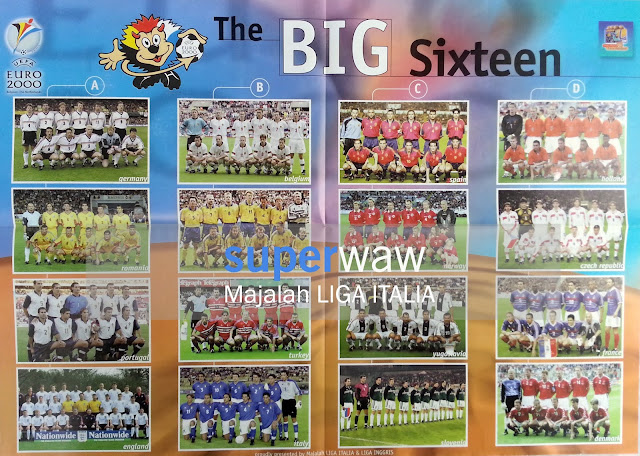 Poster The BIG Sixteen EURO 2000