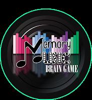 Logotipo Memory Music, Brain Training