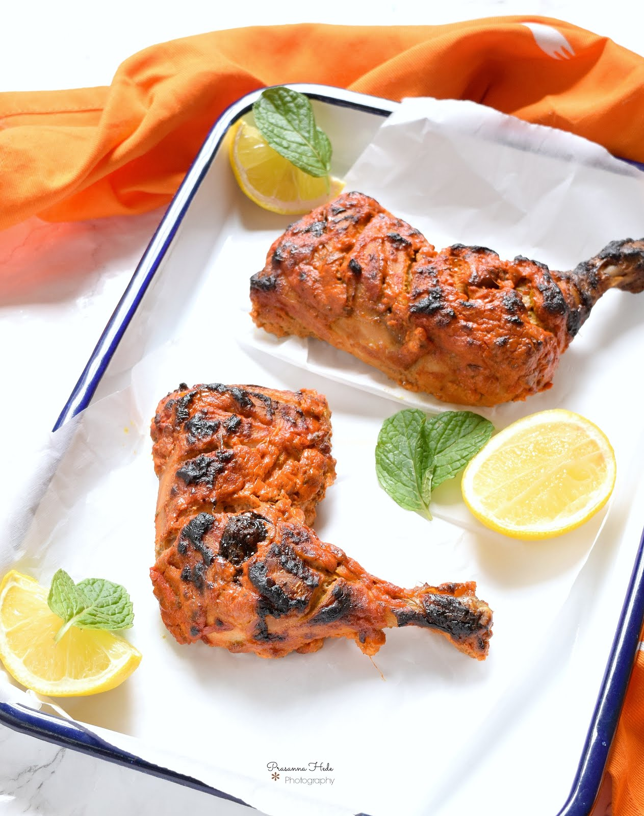 Tandoori Chicken,Oven Grilled - Savory Bites Recipes - A Food Blog