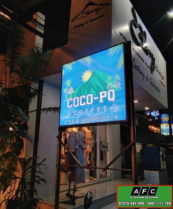 Thiết kế thi công bảng hiệu đẹp tại Phú Quốc