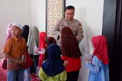 Terakhir Bertugas di Polres Wajo, Kapolres Santuni Anak Yatim Piatuh