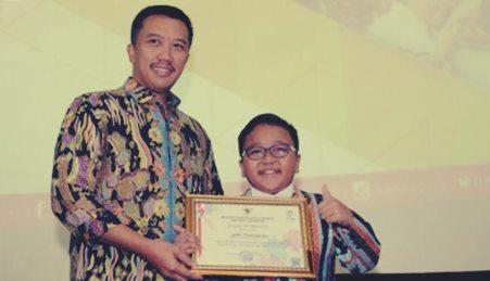 Jefri Setiawan pemegang rekor dunia asal Indonesia