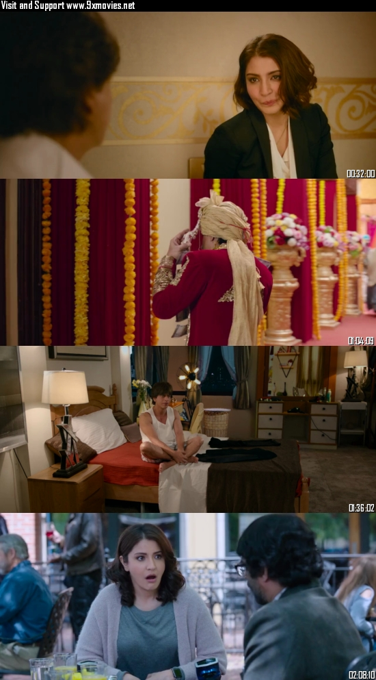 Zero 2018 Hindi 720p 480p BluRay [1.2GB 450MB]