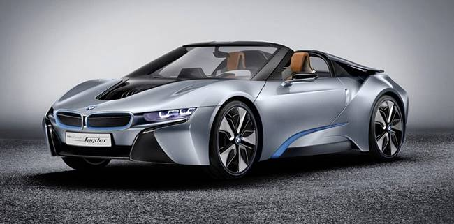 2018 BMW i8 Facelift Update