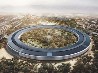Apple Park - New Circular designed building in California