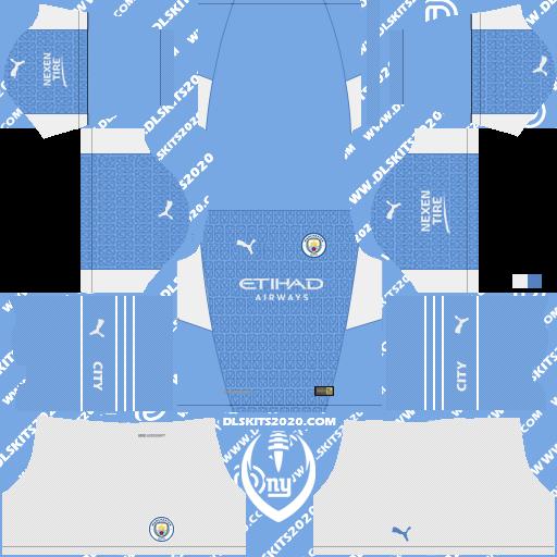 Kits Dream League Soccer 2019 For Manchester City Kits 2021 2022 Puma
