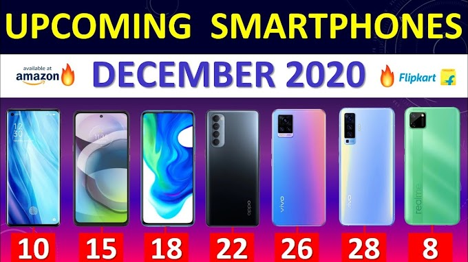 Top Upcoming Smartphones December 2020