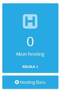 kelola akun hosting