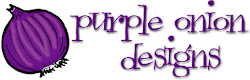 DESIGNING FOR PURPLE ONION DESIGNS