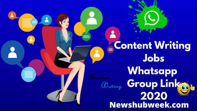 Content Writing Jobs Whatsapp Group link
