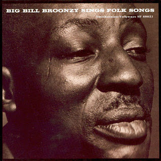 "ALBUM: portada de ""Big Bill Broonzy Sings Folk Songs"" (1962)"