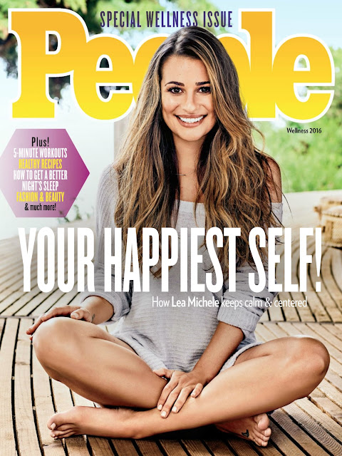 Actress, Singer, @ Lea Michele - People Magazine September 2016