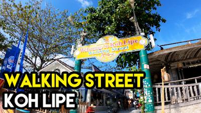 Apa yang Menarik Di Walking Street Koh Lipe