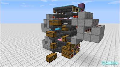 自動仕分け機 三段式倉庫