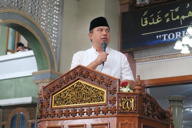 Kapolda Banten, Hadiri Haul Akbar Dicilongok
