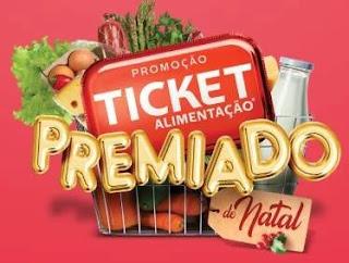 Cadastrar Promoção Ticket Alimentação Natal 2019 Premiado - 2 Carros 0KM