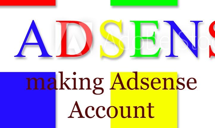 making Adsense Account