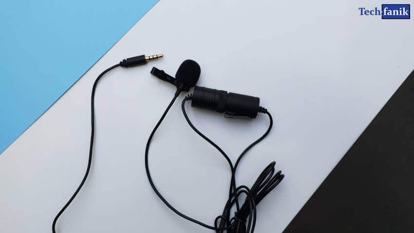 Boya BY-M1 mikrofon krawatowy do smartfonów