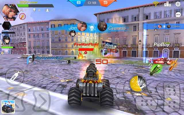 Overload: Multiplayer Battle Car Shooting APK Latest Version