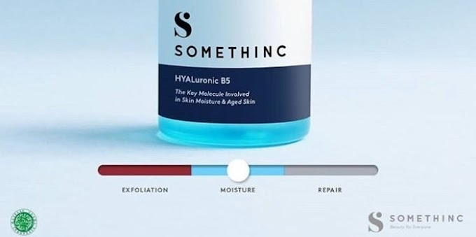 Somethinc Hyaluronic B5 Hydrating Serum yang Bikin Kulit Lembab dan Glowing