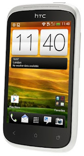 Cara Reset HTC Desire C lupa pola & password