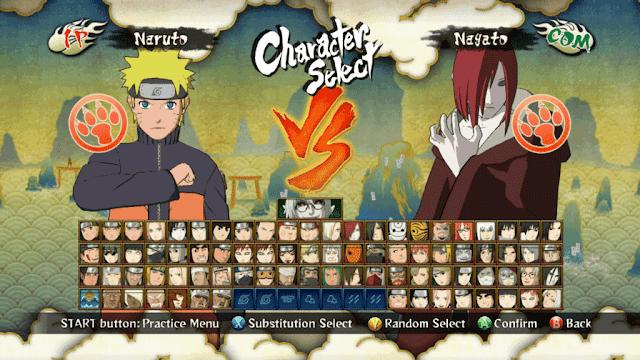 Naruto Shippuden Ultimate Ninja Storm 3 Save Game 1