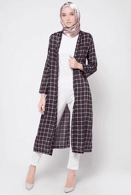 Baju Casual Wanita Berjilbab Terbaru 2018