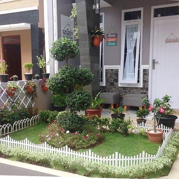 9800 Desain Taman Halaman Rumah Sederhana HD Terbaru