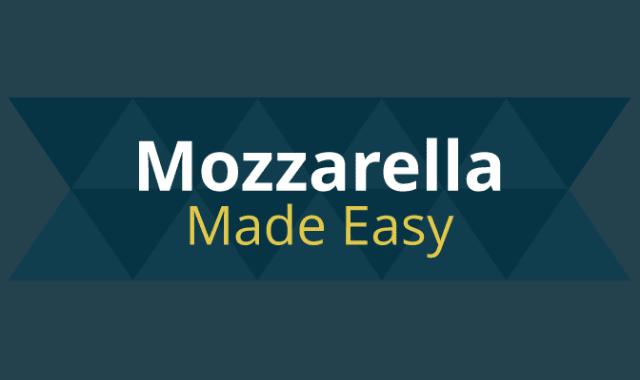Mozzarella Made Easy