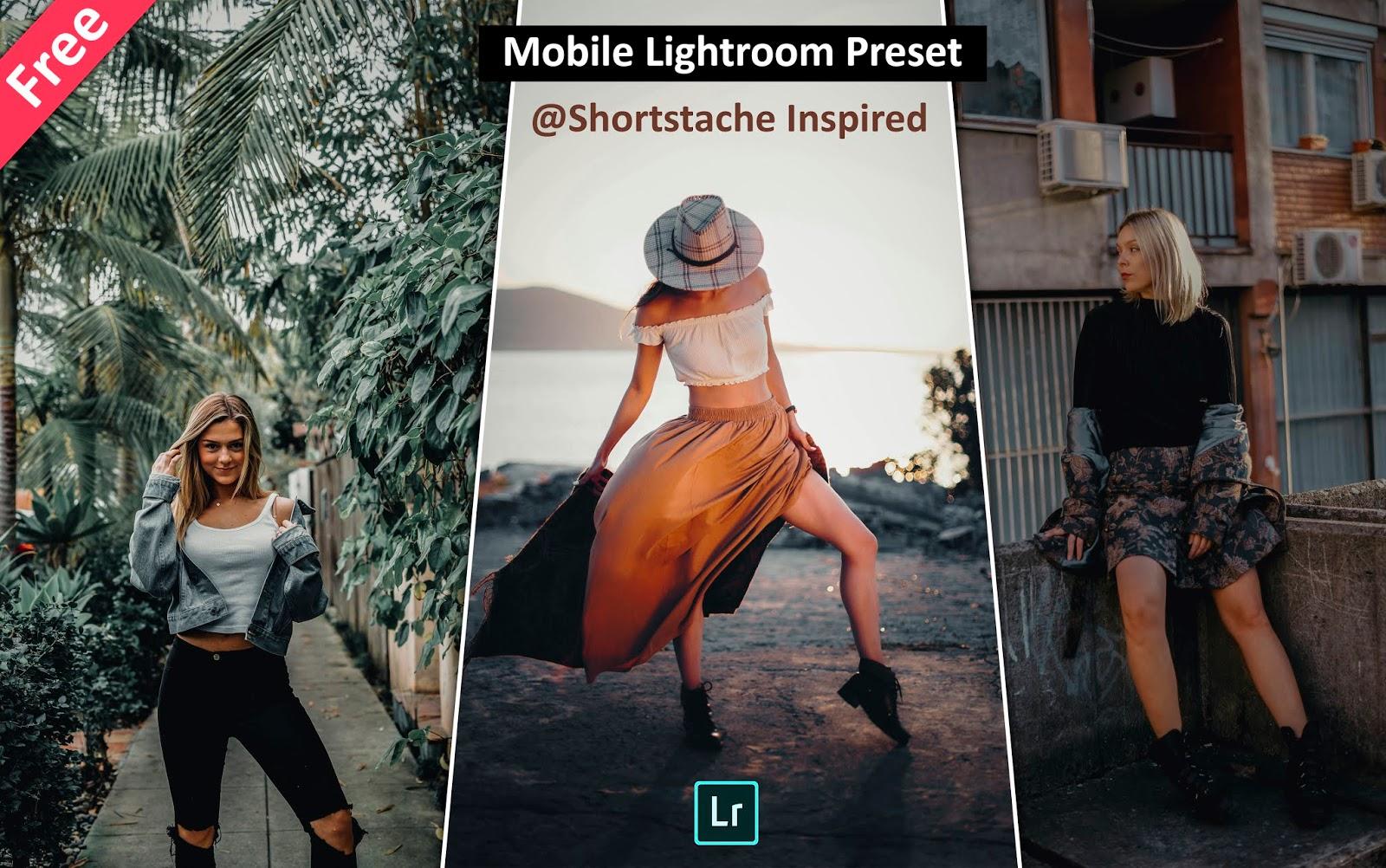 Download Shortstache Inspired Mobile Lightroom Presets for